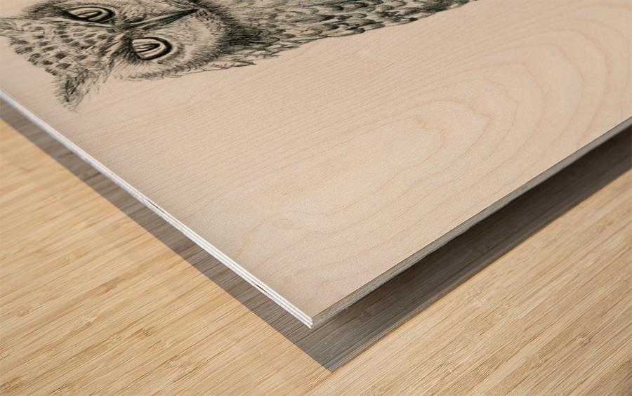 Qwl Wood print