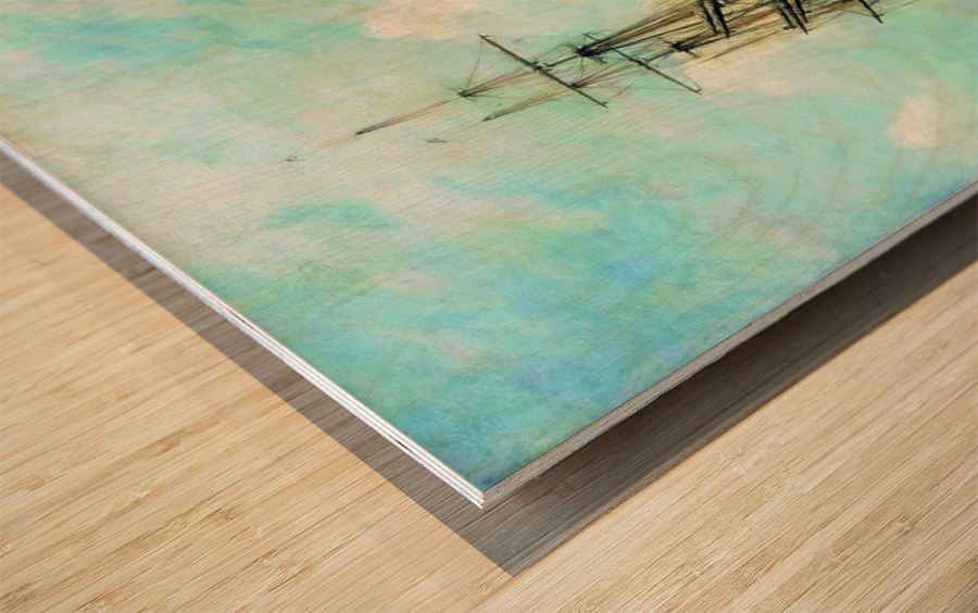 Finskom zalive Wood print