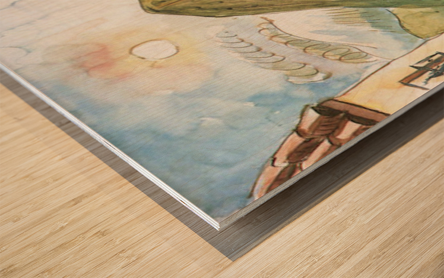 Granada by Walter Gramatte Wood print
