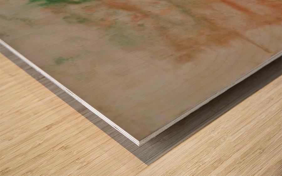 Composition 1 Wood print