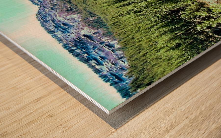 Senic  Impression sur bois