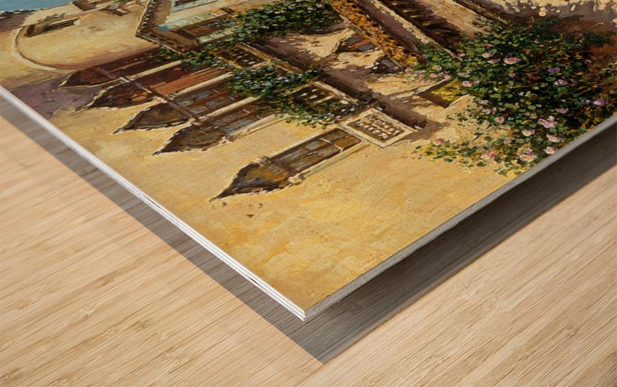 A Venetian Backwater Wood print