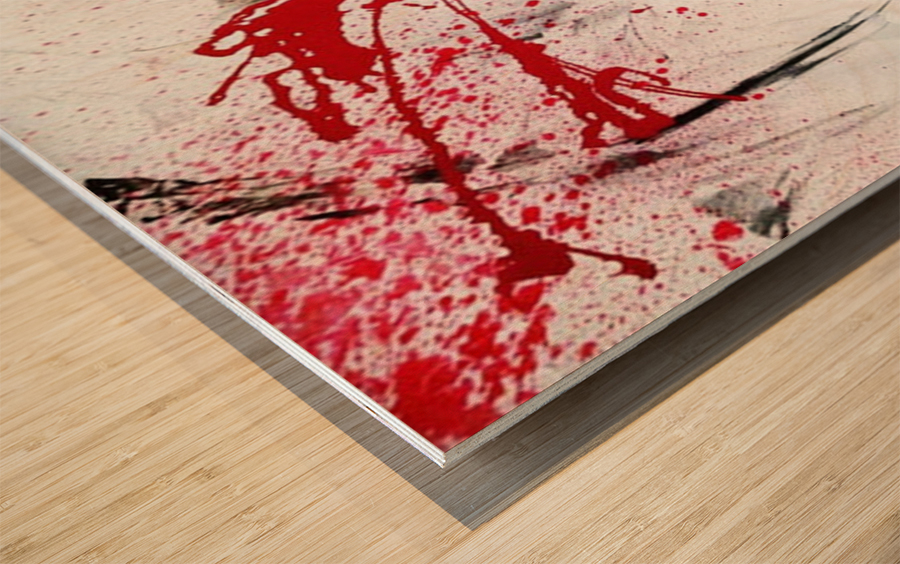 Calamity Wood print