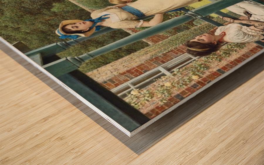 The Goldfish Seller Wood print