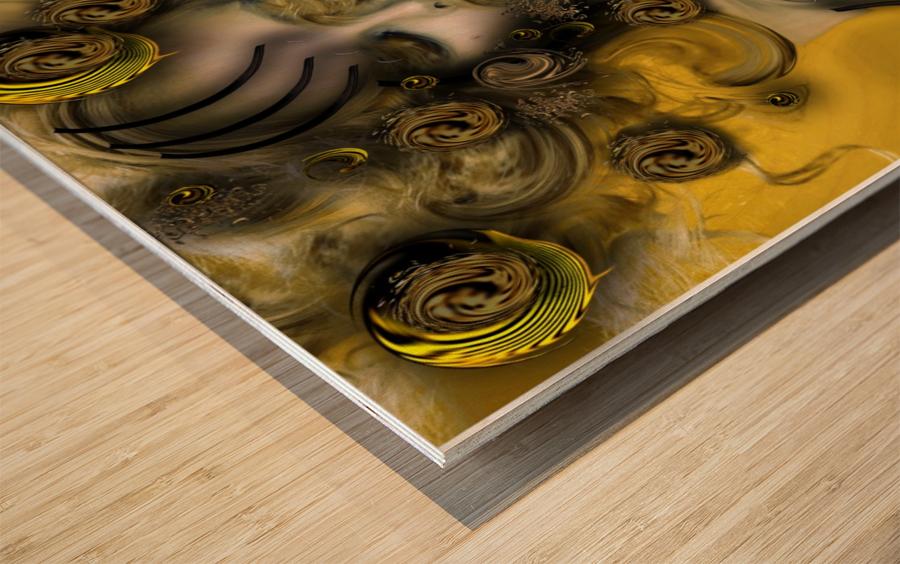Movement with Venus Wood print
