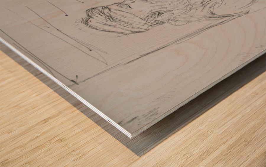darvesh Wood print