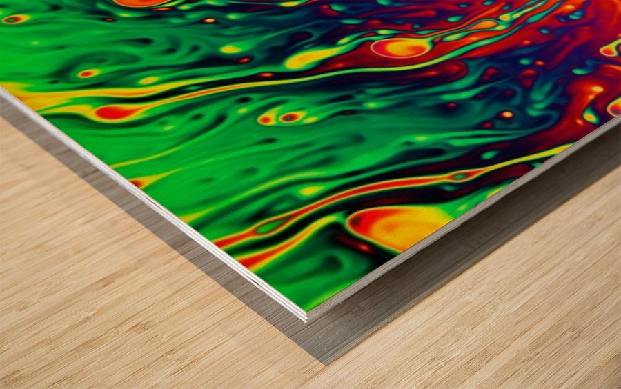 Soap Opera Wood print