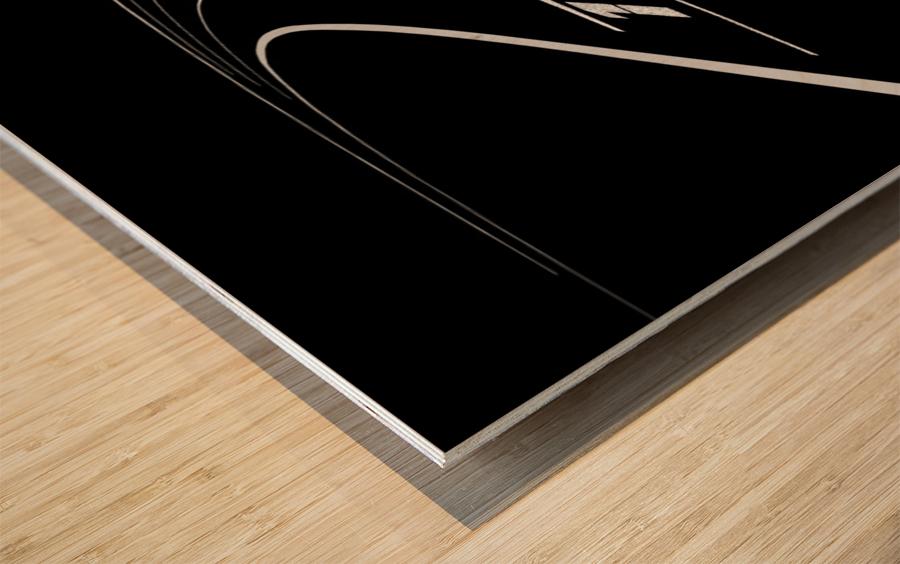 1 2 3 4 Wood print