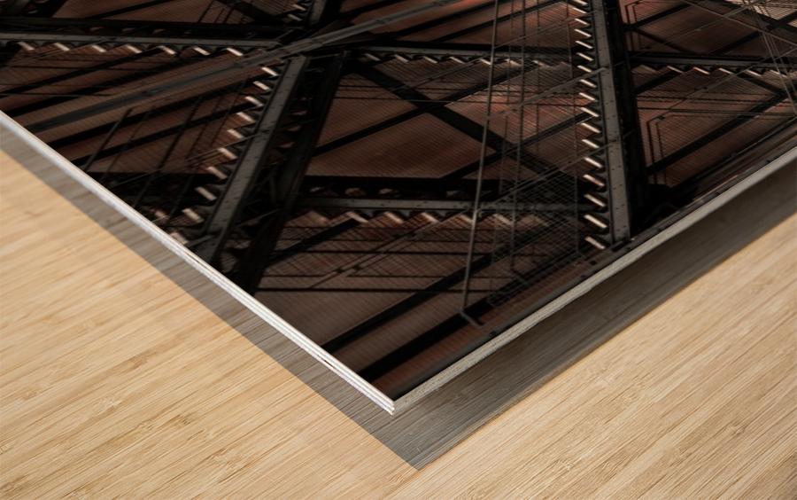 step by step and step... Wood print