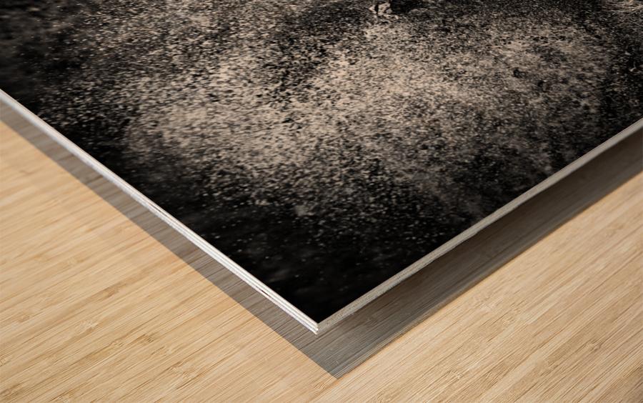 * Wood print
