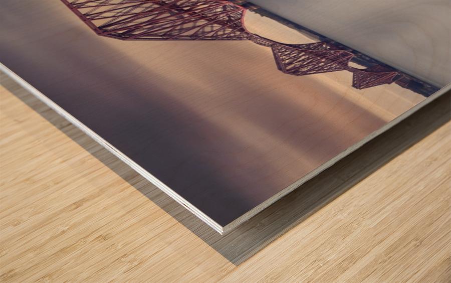 Forth Rail Bridge Wood print