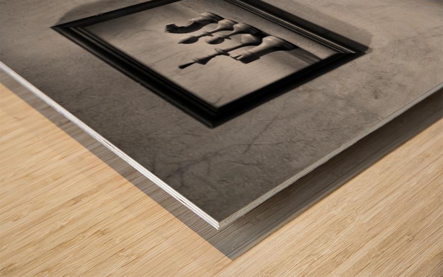 The choice to make Wood print