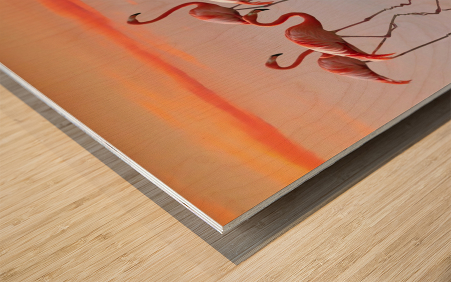 Untitled Impression sur bois