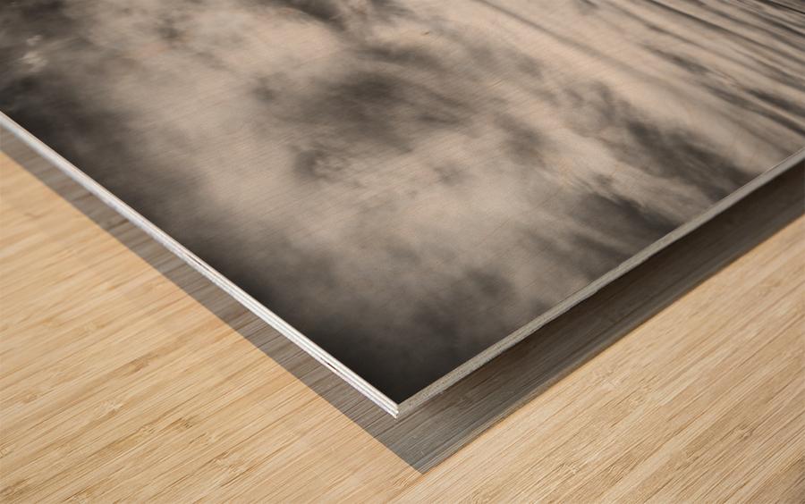 Step by step Wood print