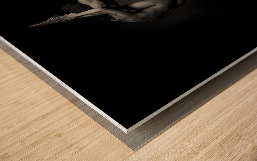 The dancers - 1348 Wood print