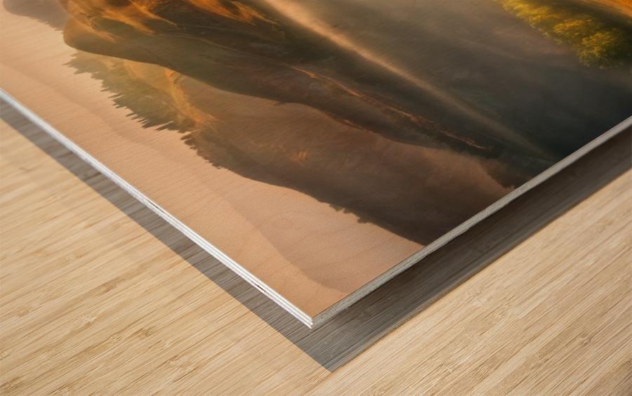 Mists... Wood print