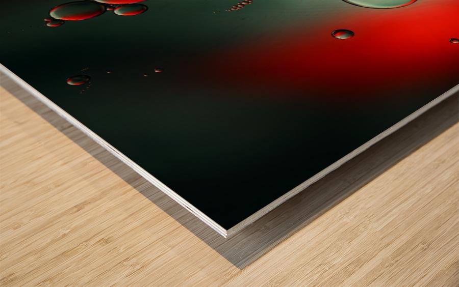 Color adaptation Wood print