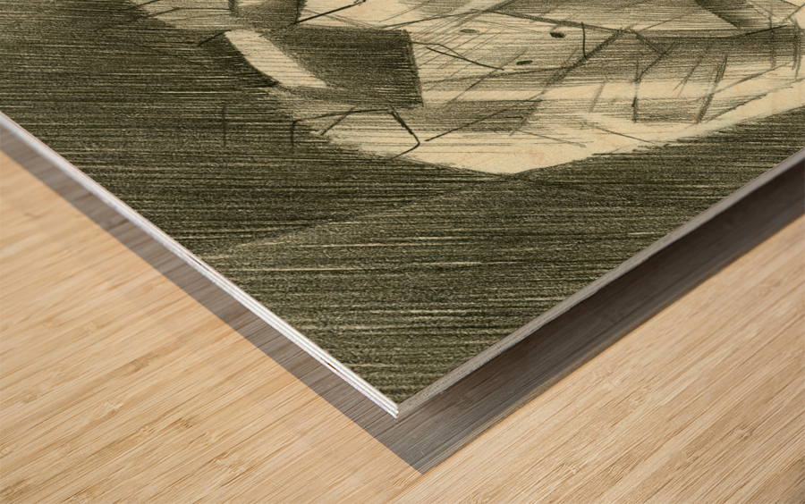 Sans titre - 30-07-14 Wood print