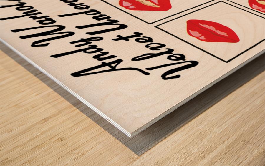 Velvet Underground featuring Nico Wood print