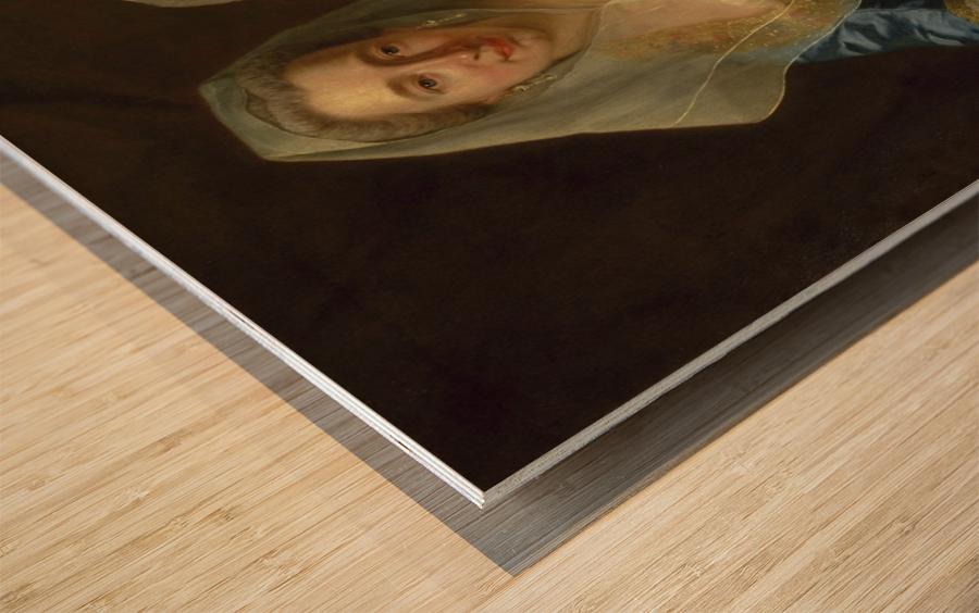 The Mirabita Sisters Wood print