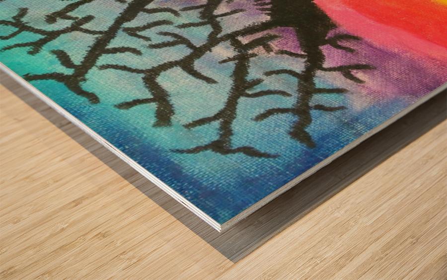 Primera Wood print