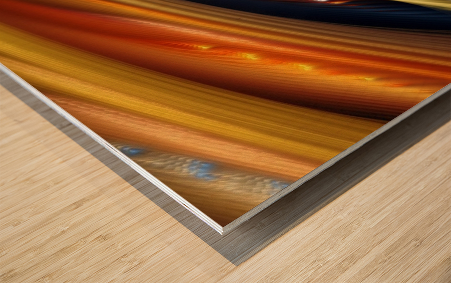 Colors Stripes Abstract Background Strings Wood print