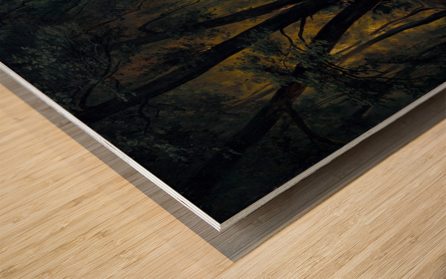 Alchetron Wood print