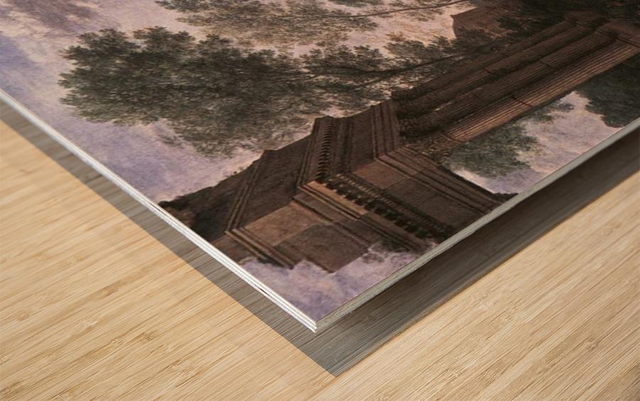 Lorraine and Tate Wood print