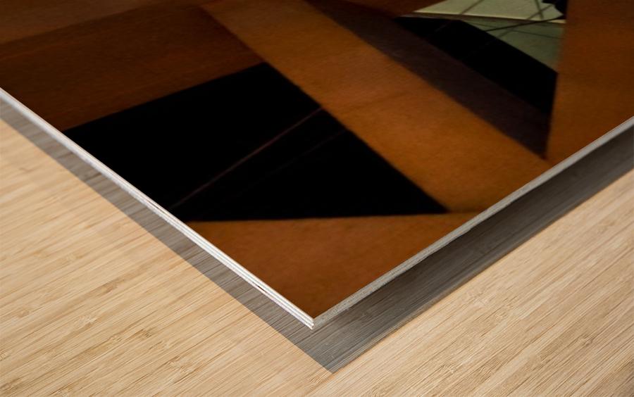 Multi Dimensional Wood print