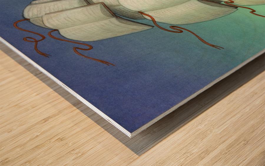 journey Wood print