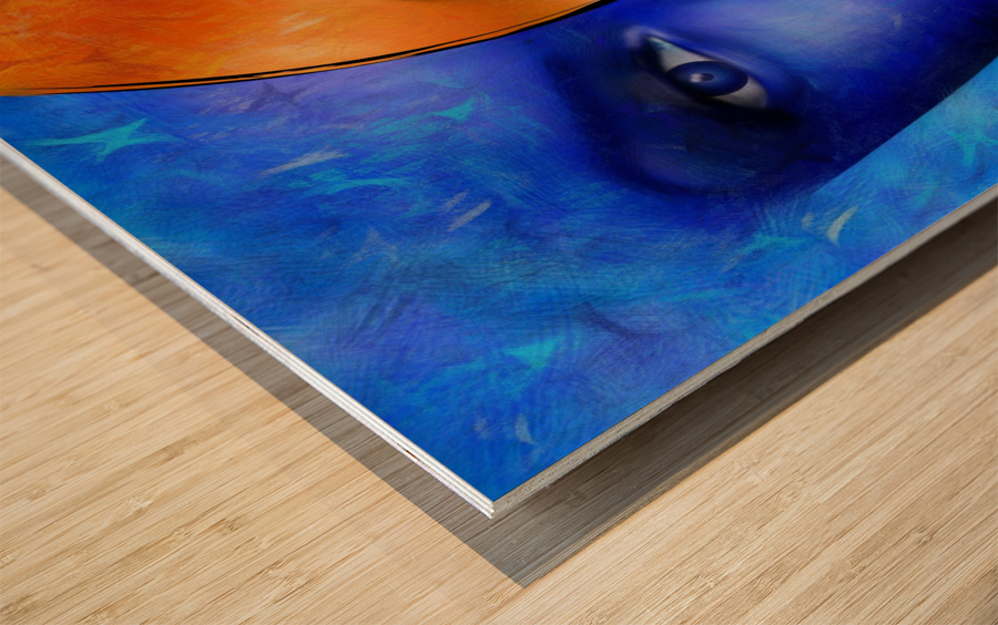 Frescanilla - the mirage Wood print