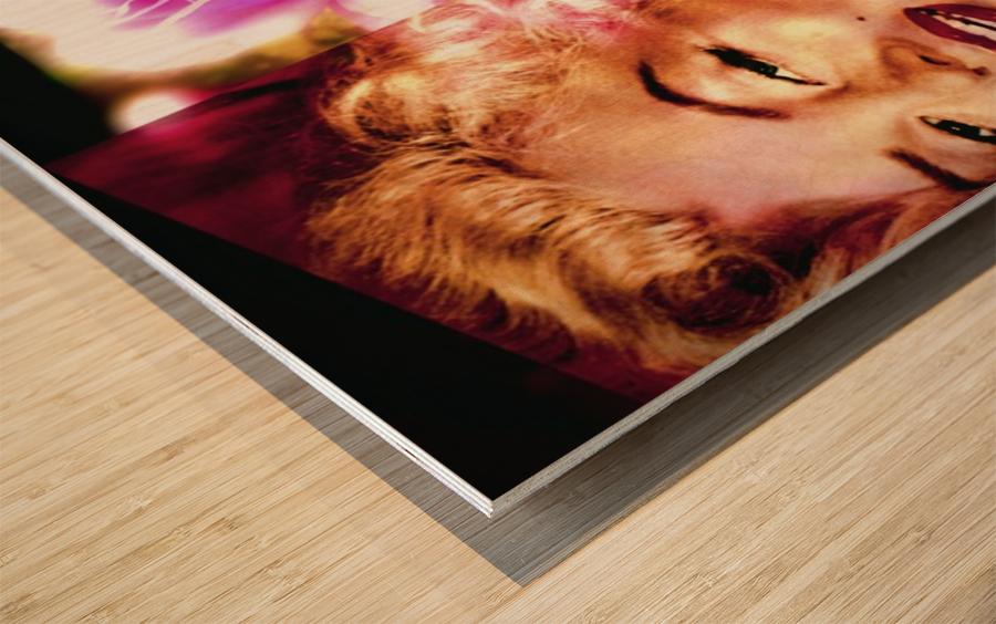 MonrowGlow Wood print
