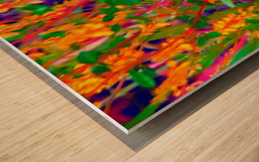 weedart Wood print
