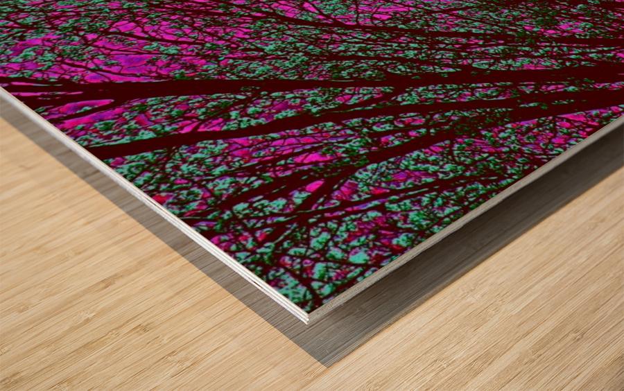 bloomingInfeb Wood print