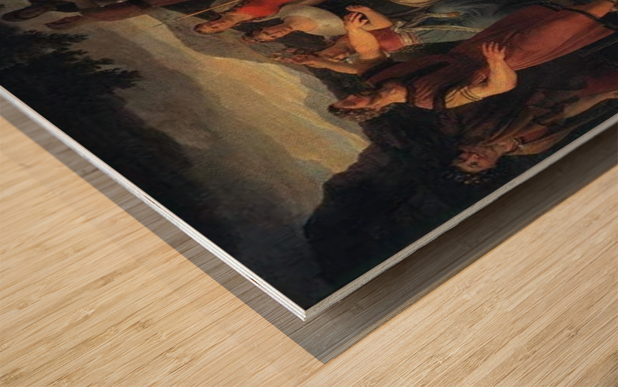 Baldr's Death Wood print