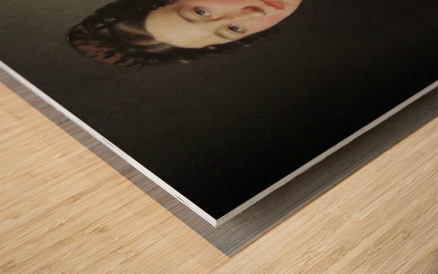 Portrait of Emilie Henriette Massmann Wood print