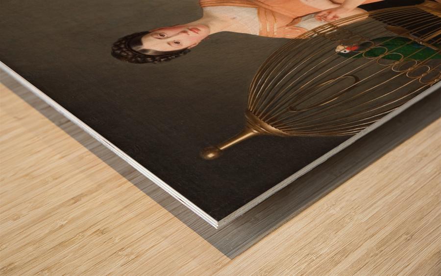 Bella and Hanna Nathanson Wood print