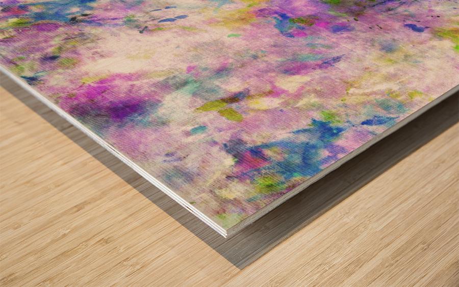 Colour Splash G260 Wood print
