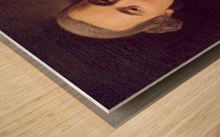 Self-portrait Impression sur bois