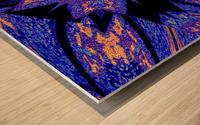 Sapphire of The Desert Wood print