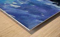 morning landscape 2 Wood print