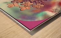 GoldLeaf Wood print