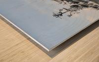 THE INTREPID, NEW YORK Wood print