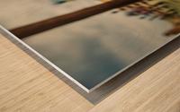 Venice Stopped Wood print
