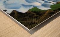 Hydrangea Impression sur bois