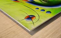 Hispanissia - painted music Wood print