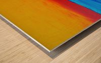 31 x2_31_031 yellow_sky R Wood print