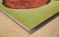 Siesta Ori Wood print