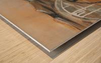 La Fin de la Traversée  Wood print