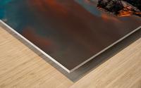 CanmoreSunrise Wood print